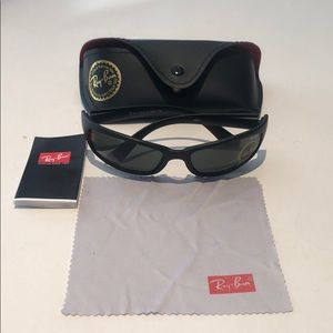 Ray Ban black men's sunglasses